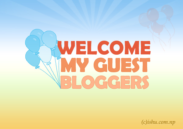 Submit an article as a guest blog