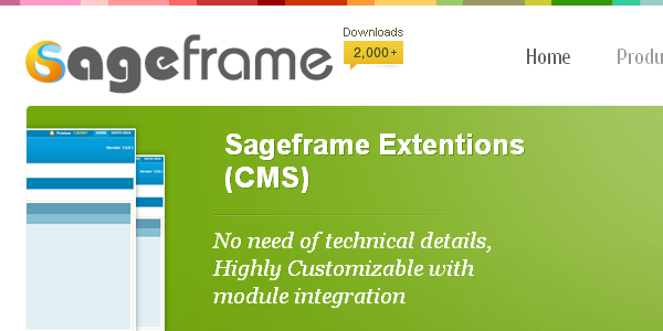 SageFrame is an open source content management system