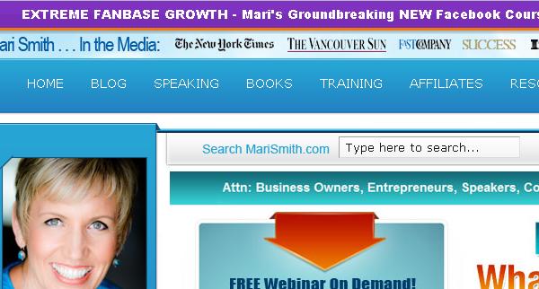 Mari Smith - Facebook Marketing Expert