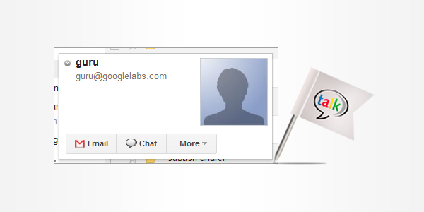 Get instant answers to your question with Google Talk Guru