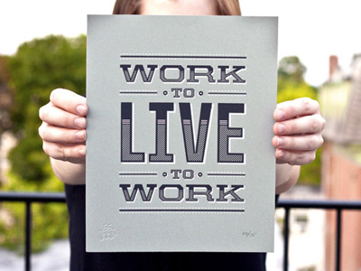 Live to work by 55 Hi's