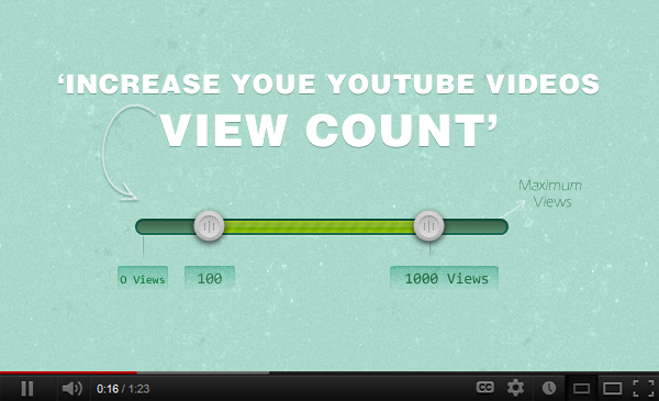 How to increase your YouTube videos view count?