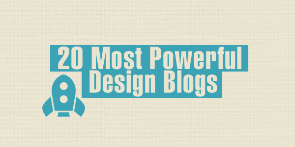 20 most powerful design blogs