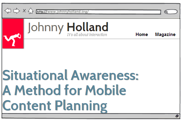 20 most powerful design blogs - Johny Holland