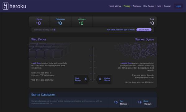 heroku - most beautifully designed website