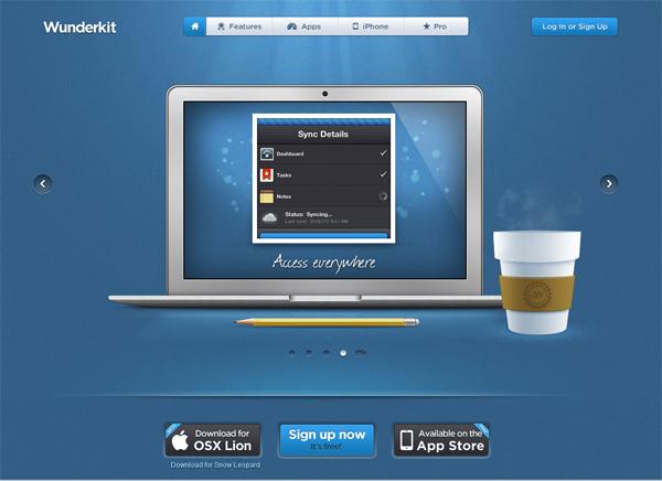 wunderkit - most beautifully designed website