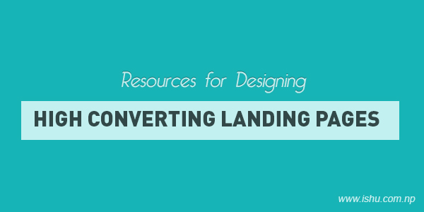 Resources for designing high converting landing page